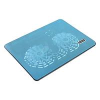 Đế Tản Nhiệt N139 Laptop 2 Fan - Hàng Nhập Khẩu