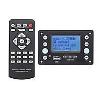 Bluetooth 4.2 DC5V Battery 12V Two Channel Audio Decoder Board Recording Radio Lyrics Display APE FLAC WMA WAV MP3