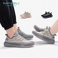 Giày Thể Thao Sneaker Cặp Đôi Nam Nữ MINSU M4706 Phong Cách Sneakers Bata Hàn Quốc Cực Đẹp Cho Các Đôi Khi Đi Chơi Đi Học, Du Lịch