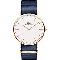 Đồng Hồ Nam Daniel Wellington Classic Bayswater Rose White 40mm DW00100275