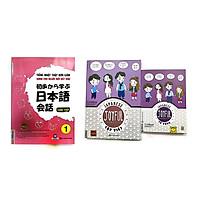 Combo Tiếng Nhật Thật Là Đơn Giản Cho Người Mới Bắt Đâu + Joyful  Japanese Tiếng Nhật Vui Nhộn Tập Viết  + Joyful Japanese - Tiếng Nhật Vui Nhộn - Từ Vựng ( tặng kèm bút chì dễ thương )