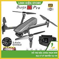 Flycam MJX Bugs 16 Pro - Camera Ultra HD 4K, góc quay 90 độ, Bay nhà khi pin yếu