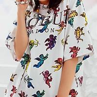 Áo thiên thần Angel Saigon in full toàn thân 2 mặt unisex cryaotic10