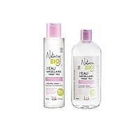 Combo 2 lọ nước tẩy trang Natury Bio I'Eau  Micellar Water For Dry & Sensitive Skin dành cho da khô và nhạy cảm  (100ml+530ml)