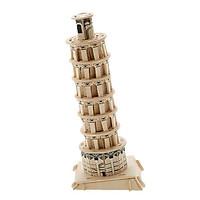 Mô hình lắp ghép 3D bằng gỗ Tháp nghiêng Pisa
