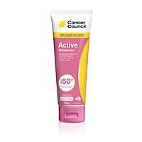 Kem chống nắng năng động Cancer Council - Active Pink SPF 50+/PA++++ 110ml