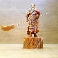 Tượng quan công tượng quan vân trường gỗ huyết long