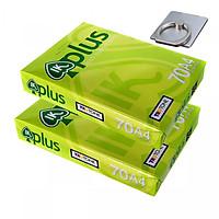 02 Ram Giấy IK Plus A4 DL70 500 sheets và giá đỡ điện thoại tiện ích