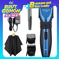 FLYCOMáy cắt tóc điện cạo râu không thấm nước có thể sạc lại FC5809