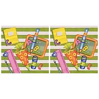 Combo 2 Khăn Giấy Ăn Trang Trí Bàn Tiệc Tissue Napkins Design Ti-Flair 371726 (33 x 33 cm)