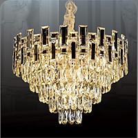 Đèn chùm pha lê cao cấp thiết kế sang trọng trang trí phòng khách, nhà hàng, khách sạn, quán cafe CFL 88638-8