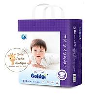 Combo 2 túi Bỉm dán GOLDGI+ Size S 84 miếng (cho trẻ từ 4-8kg)