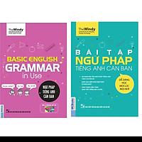 Combo 2 cuốn Ngữ pháp tiếng anh căn bản chibi + bài tập ngữ pháp tiếng anh căn bản ( tặng Sổ tay tiếng anh trình độ A )