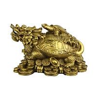 Tượng Long Quy Đồng - Linh Vật Phong Thủy Đặt Ban Thờ Thần Tài, Phòng Khách ... Trấn Trạch, Hóa Sát, An Gia