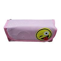 Bóp Viết Vải Hộp 5908 - Màu Hồng