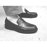Giày tây công sở nam lười da bò cao cấp loafer penny phong cách hàng quốc
