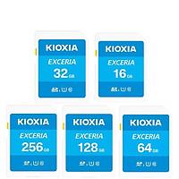 Thẻ nhớ SDHC Kioxia Exceria 16 / 32 / 64 / 128 / 256GB UHS-I U1 100MB/s - Formerly Toshiba Memory (Hàng chính hãng)