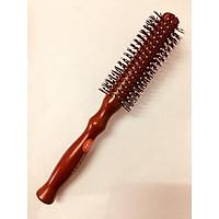 Lược tròn cán gỗ chuyên tạo kiểu tóc