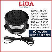 Biến áp đổi nguồn LIOA 220V sang 100V 110V 120V (200VA, 400VA, 600VA, 1000VA, 1200VA, 1500VA, 2000VA)
