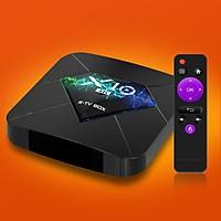 Android TV BOX RAM 2G, Bộ nhớ 16G, xem phim 4K, chơi game, hỗ trợ tính năng tìm kiếm bằng giọng nói mới nhất hiện nay X10
