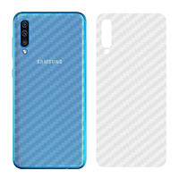 Miếng Dán Mặt Lưng Cacbon Dành Cho Samsung Galaxy A60/ A70- Hàng Chính Hãng