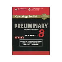 Cambridge English Preliminary - Preliminary English Test 8 with Answers (reprint edition)