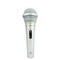 Micro Karaoke Có Dây Cực Hút Tiếng Âm Thanh Hay AK319 CBVN SF11 Bạc
