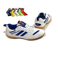 Giày Cầu Lông, Giày Bóng Bàn Cao Cấp Tặng Kèm Vớ Chống Trơn (màu ngẫu nhiên)