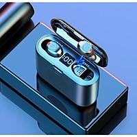 TWS  F9 3 Trong 1 Mini Tai Nghe Bluetooth  5.0 Cảm Ứng Thông Minh tặng kèm dock sạc kiêm loa bluetooth Stereo Tai Nghe Không Dây 9D  Âm Thanh Vòm loa Phiên Bản mới nhất 2019 -chính hãng