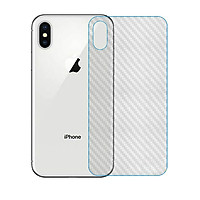 Miếng dán mặt sau vân carbon cho iPhone X/ XS