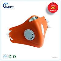 Khẩu trang nhựa dẽo y tế đa năng 1CARE Pro lọc bụi, chống nắng, kháng nước 100% (Tặng 20 miếng lọc 3 lớp)