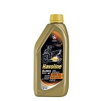 Dầu nhớt bán tổng hợp xe tay ga Caltex Havoline SuperMatic Semi Synthetic 10W40 1L