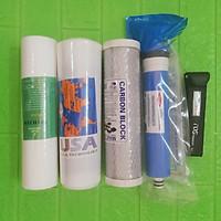 Bộ lõi lọc nước 1,2,3,4 dùng cho máy RO tặng kèm bút TDS - Chính Hãng