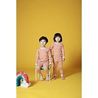 Bộ dài cho bé Olomimi Hàn Quốc Papillon Orange FW20 - 100% cotton