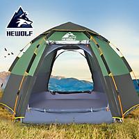 Lều cắm trại, lều dã ngoại tự bung 5-8 người HEWOLF - Z1789