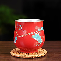 Chén bạc uống trà xuân hạ thu đông