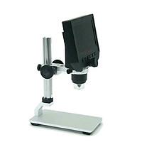 Kính hiển vi kỹ thuật số 600x có đèn soi mẫu vật cao cấp (Tặng nút kẹp cao su giữ dây điện -giao màu ngẫu nhiên)