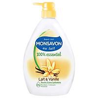 Sữa Tắm MONSAVON Dưỡng Ẩm - Hương Hoa Quyến Rũ - Phù Hợp Với Mọi Loại Da Chiết Xuất Hoa Vani 500ml