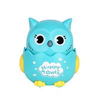 Đồ chơi hình cú mèo chạy cót KAVY nhấn là chạy đáng yêu dễ thương nhựa nguyên sinh an toàn