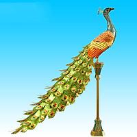 Mô hình thép 3D tự ráp Colorful Peacock