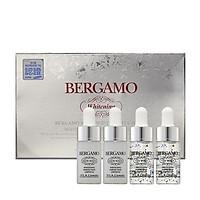 Set 4 chai Siêu tinh chất dưỡng trắng da Bergamo Viva White Whitening Perfection Ampoule Set 13ml x4
