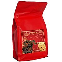 Cà phê Arabica Cầu Đất đặc biệt Phiên bản Tết hiệu K Phiêu -Túi 450gr