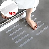 5Pcs Anti Slip Bath Grip Stickers Non-Slip Shower Strips Pad Floor Kit