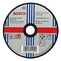 Đá Cắt Bosch (100 x 2 x 16mm) - Sắt