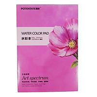 Giấy vẽ màu nước A5 Water Color Pad định lượng 230g 20 tờ
