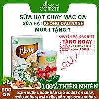 Chay - Dinh dưỡng từ 10 loại hạt dinh dưỡng-800gr 1 hộp-dùng cho người ăn chay, giảm cân, tiểu đường, người ăn kiêng vì bệnh.