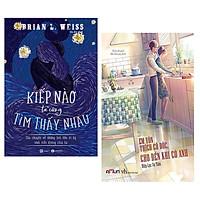 Combo 2 Cuốn Tiểu Thuyết Đặc Sắc : Em Vốn Thích Cô Độc, Cho Đến Khi Có Anh + Kiếp Nào Ta Cũng Tìm Thấy Nhau (Tặng kèm Bookmark Happy Life)