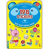 Bóc Dán Hình Thông Minh Phát Triển Khả Năng Tư Duy Toán Học IQ EQ CQ (5-6 Tuổi) - 198 Sticker (Quyển 1)