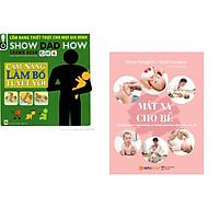 Combo 2 cuốn sách: Cẩm Nang Làm Bố Tuyệt Vời + Massage Cho Bé