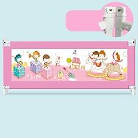 Thanh chắn giường an toàn cho em bé nút bấm hiện đại cao 82cm trượt lên trượt xuống giá bán 1 thanh